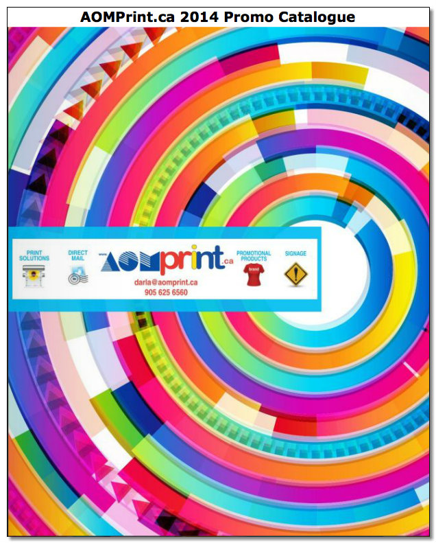 Our 2014 Promotional Products Catalogue is loaded!