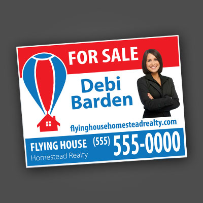 Outdoor Free-Standing Signs – Coroplast Lawn Signs