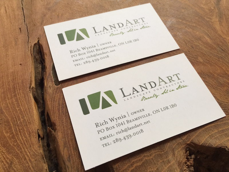 Standard Business Card – AOM Print
