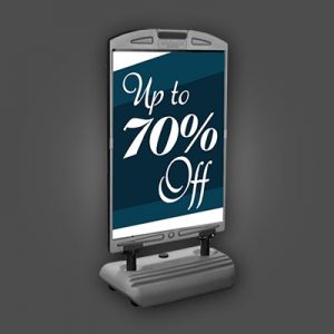 Outdoor Free-Standing Signs – Weighted Base Signs