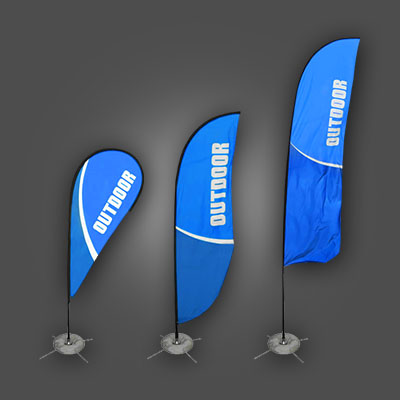 Outdoor Free-Standing Signs – Feather Flags