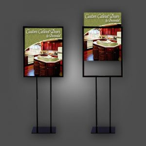 Free-Standing Signs – Pedestal Floor Signs