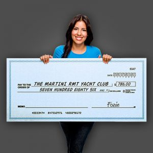 Special Events – Oversized Cheques