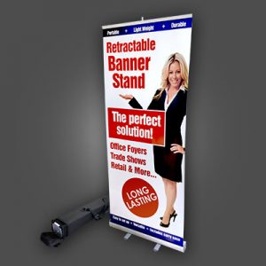 Free-Standing Signs – Pop Up Retractable Banner Stands