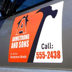 Vehicle Graphics – Vehicle Magnets