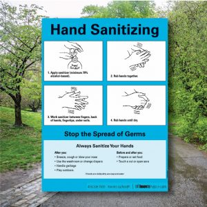 Counter Safety Signs – Hand Washing