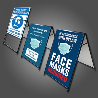 Face Mask Notification A-Frames